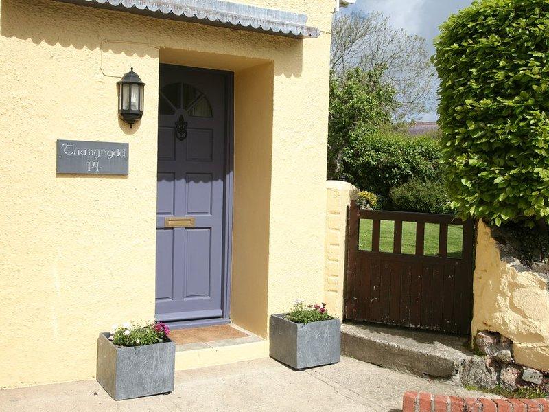 The front door to Tirmynydd