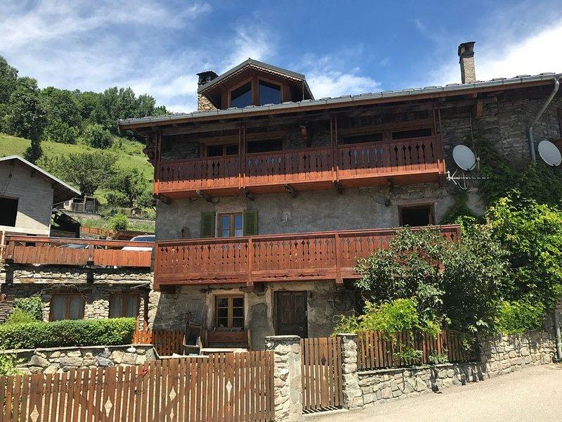 traditional Alpine village, location de vacances à Bourg Saint Maurice