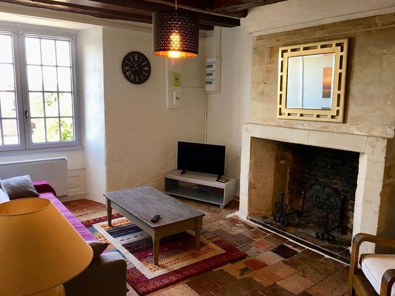 Gîte Donjon 3 étoiles XVIe siècle entre Beauval et Chenonceau, location de vacances à Saint-Julien-de-Chedon