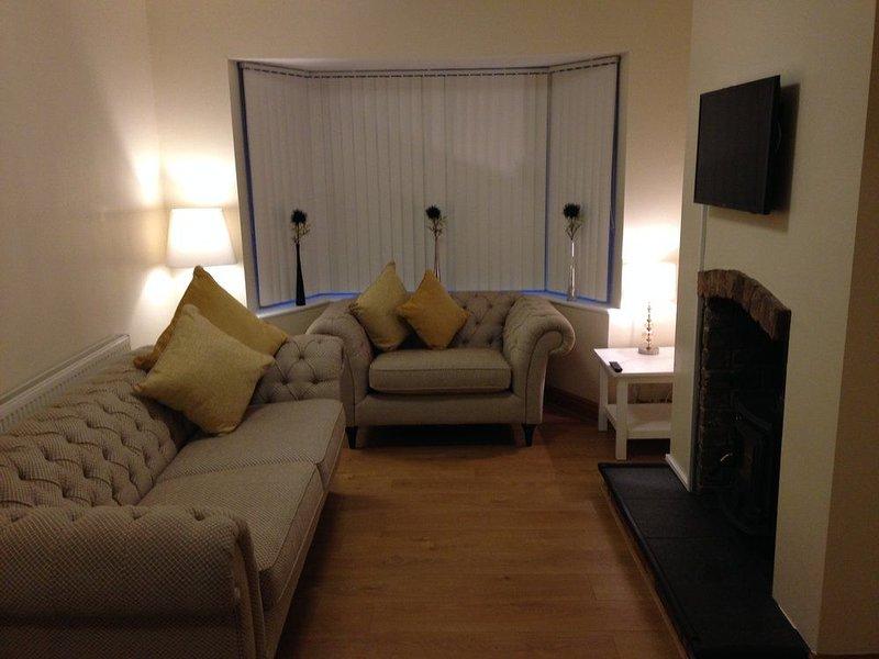 The Flintshire 3 bedroom, holiday rental in Bagillt