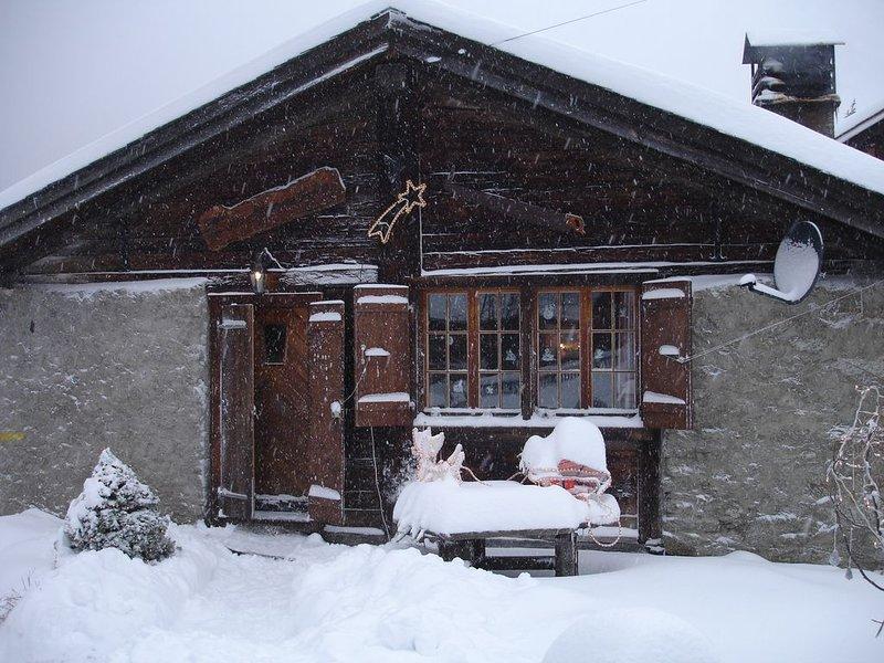 Chalet 'Le Grandzon'  **** tout confort, calme (chalet entièrement rénové), holiday rental in Bovernier