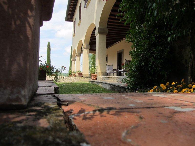 Villa Il Poggiolino Chianti Tavarnelle Firenze, location de vacances à Badia a Passignano