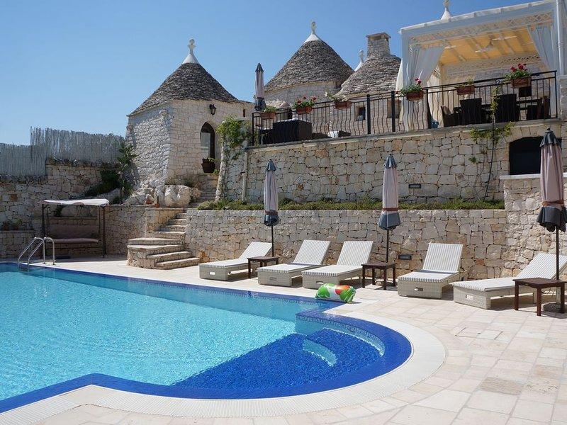 Trullo 'Pietra Antica' in Puglia - Italy, location de vacances à Alberobello