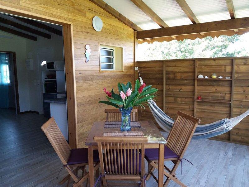 GITE  A MALENDURE  Manguier, holiday rental in Mahaut
