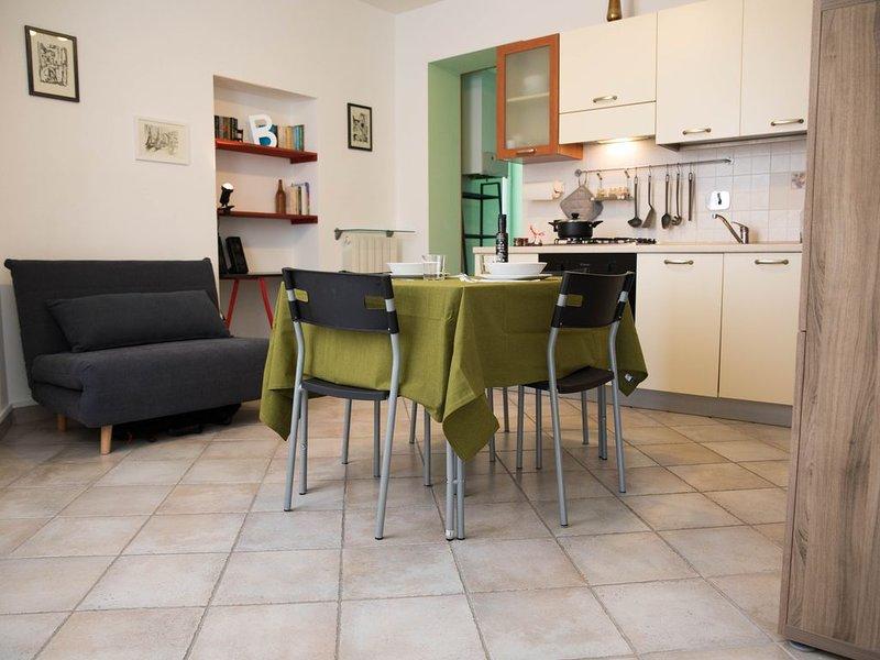 Casa Bajarico: nuova e luminosa casa al mare nel cuore di Sanremo, alquiler vacacional en Sanremo