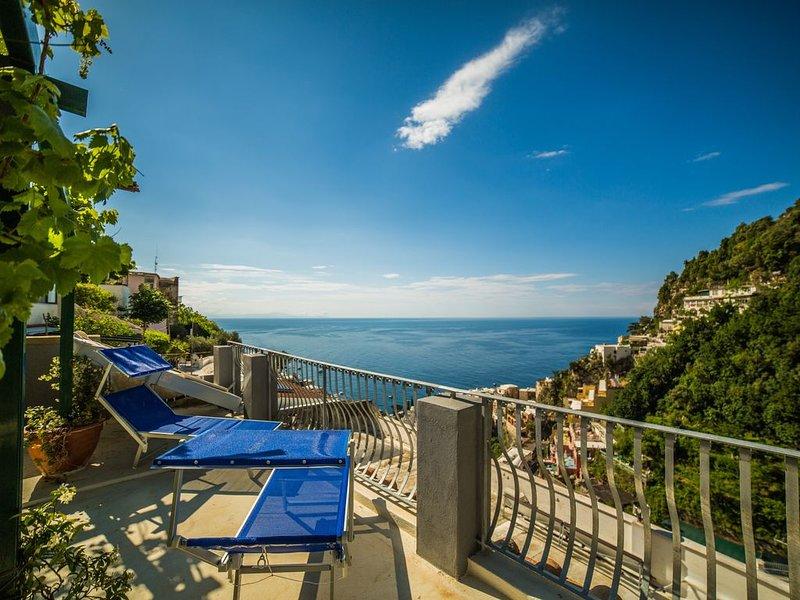 Casa Anastasia Positano - Sea view, alquiler de vacaciones en Positano