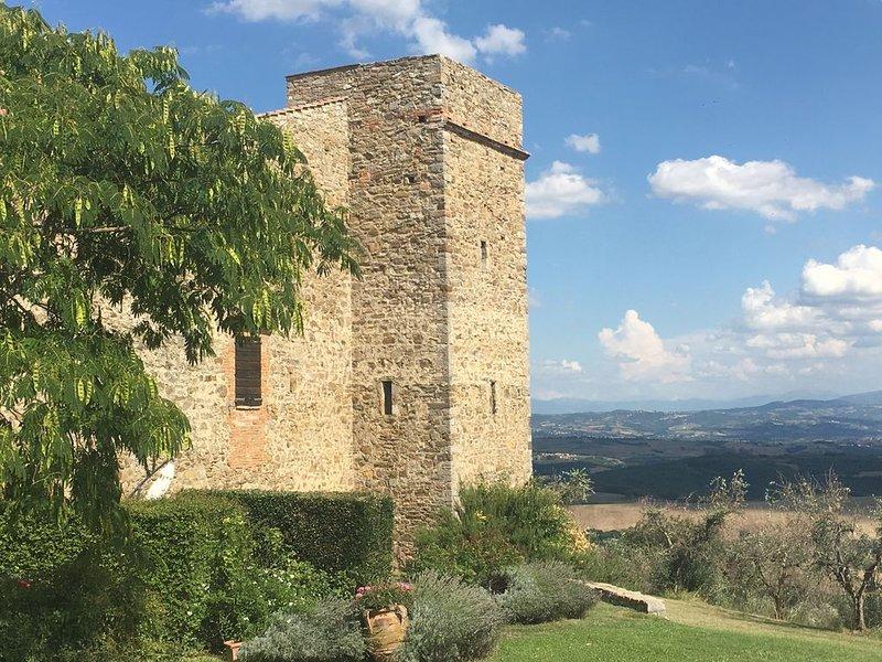 Torre Medievale nel Borgo di MONTELAGELLO PG, location de vacances à Mercatello