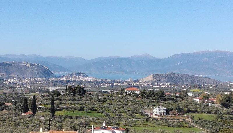 House with view in Nafplio 389184, aluguéis de temporada em Mycenae