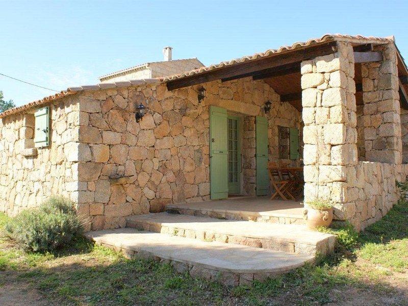 Sartene: Maison de caractère - Serraggia - Roccapina - 4 personnes, holiday rental in Tizzano