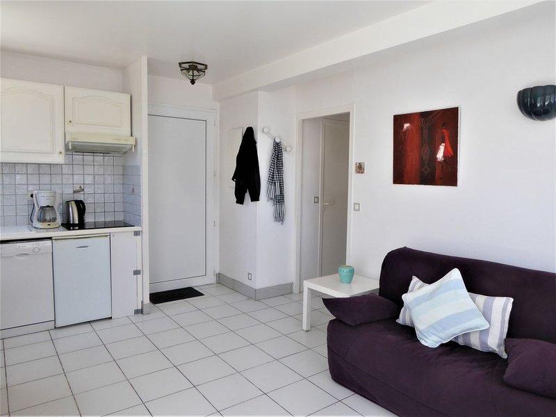 Appartement classé 3* de plain pied avec vue sur mer............................, holiday rental in Vendays Montalivet