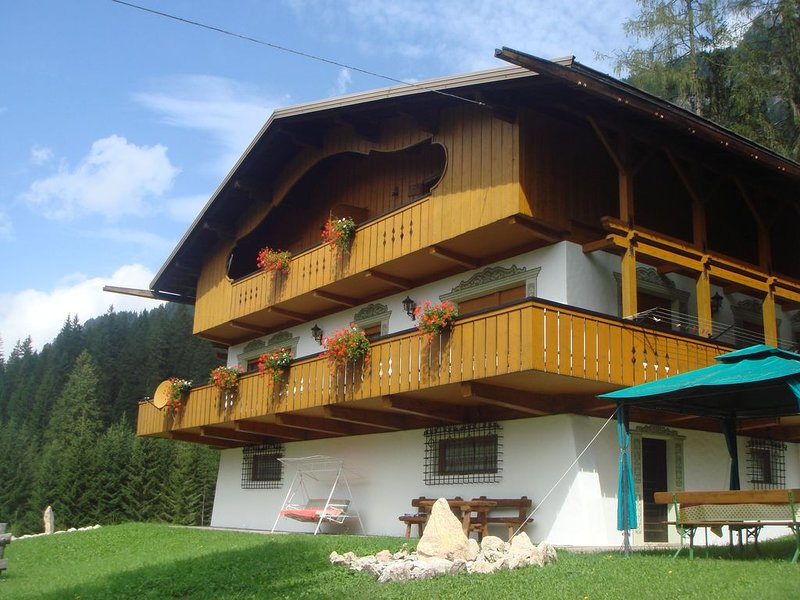 Appartamento tipico in splendida vallata sappadina, holiday rental in Santo Stefano di Cadore