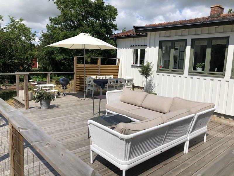 Summer house in Ängelsbäckstrand, vacation rental in Bastad