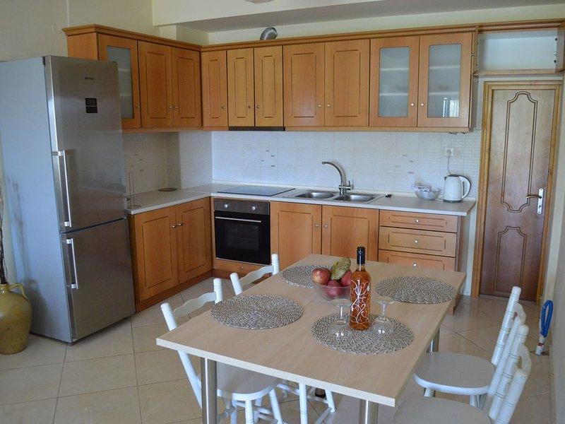 Eutixia's ground floor apartment,Pentati sea-village ,Corfu, holiday rental in Pentati