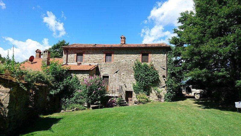 appartement ( en pleine nature appénienne, relax e calme, casa vacanza a Bagno di Romagna
