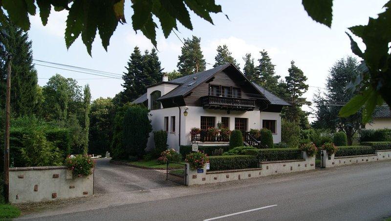 Entre vignes et montagne, gîte de charme *** Le Schaentzel, holiday rental in Breitenau