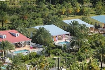 Tropical Villa with Private Pool, holiday rental in Jolly Harbour