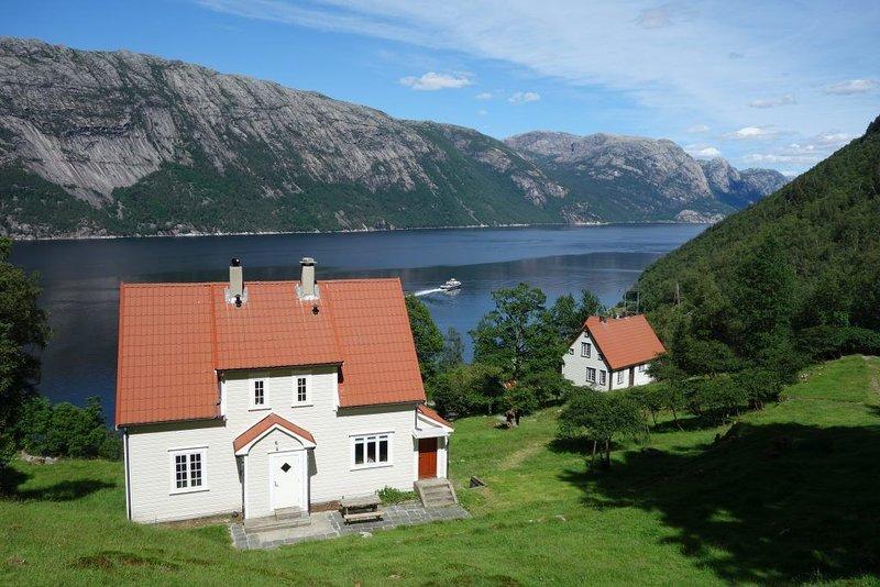 Flørli 4444 Lysefjorden - Director's residence, vacation rental in Rogaland