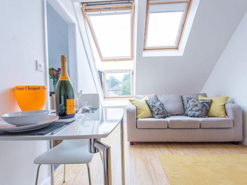 The Radcliffe Stylish Modern Contemporary 1 Bedroom Apartment in Headington, vacation rental in Stanton Saint John