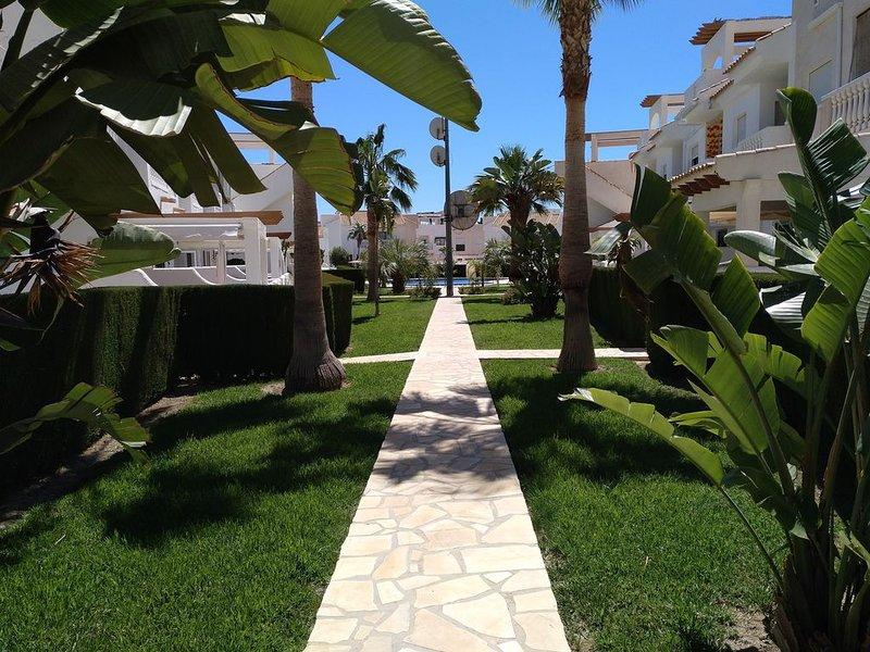 Duplex en Bolnuevo, muy cerca de la playa y del Puerto de Mazarrón, holiday rental in Bolnuevo