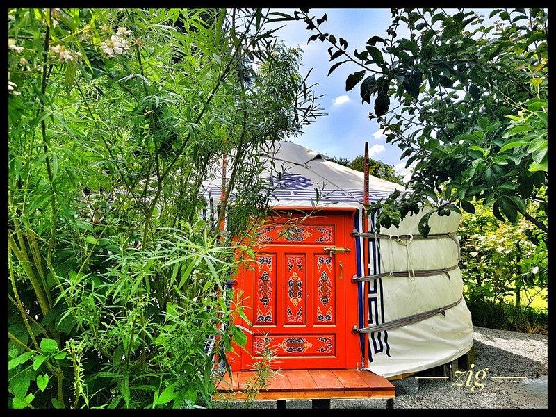 la yourte du fauconnier, casa vacanza a Saint-Pol-sur-Ternoise