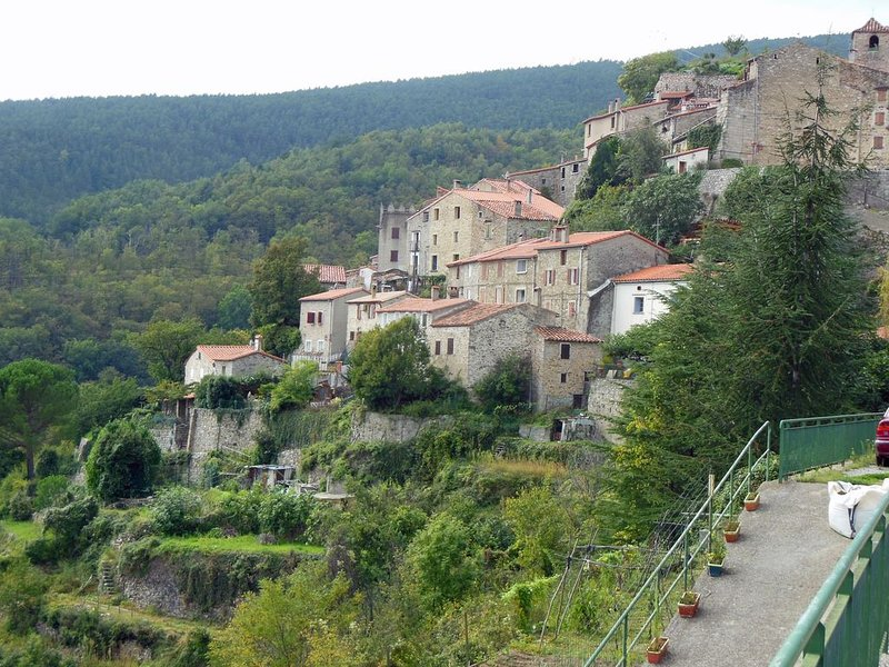 Corsavy, a beautiful village a short drive up the valley.