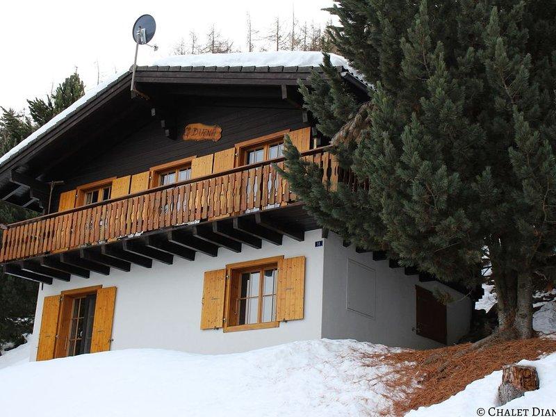 Sfeervol familiechalet dichtbij skilift en voorzieningen, location de vacances à Prarion