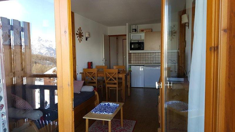 Vos vacances d'hiver  et d'été dans le Parc des Ecrins (05290 Puy St Vincent=, location de vacances à L'Argentière-la-Bessée