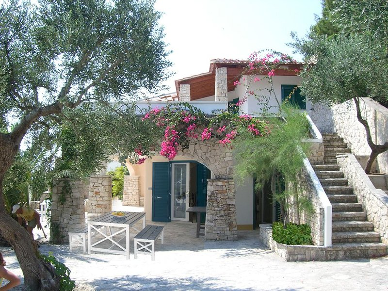 Villa / Casa al mare a Marina di Novaglie, Gagliano del Capo (LE), Salento, alquiler vacacional en Marina di Novaglie