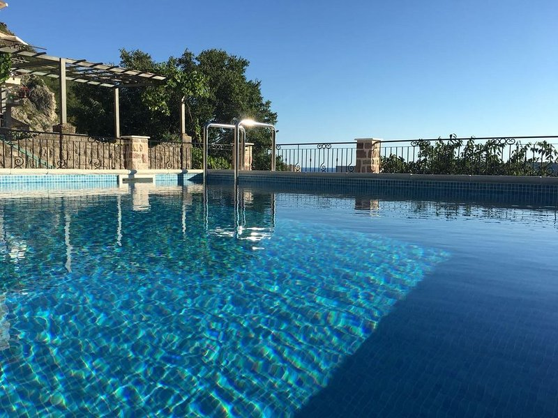 Villa offers  aunique view of Becici beach, and the medieval city of Budva., vacation rental in Budva Municipality