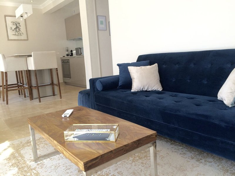 Appartement climatisé avec piscine privée, location de vacances à La Roquette-sur-Siagne