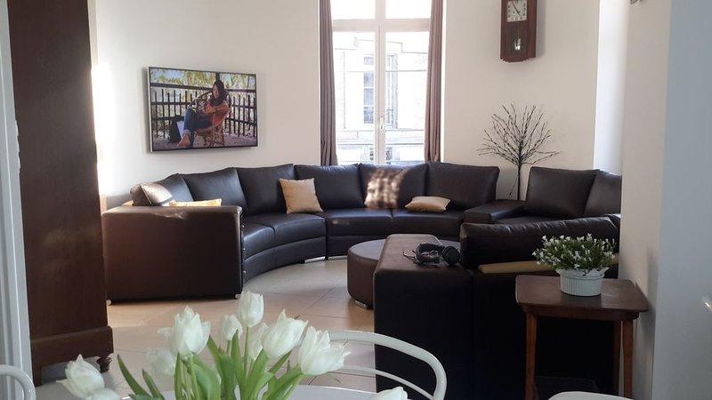 Dans bel immeuble de type haussmannien, entièrement rénové Duplex 120 m², location de vacances à La Bourboule