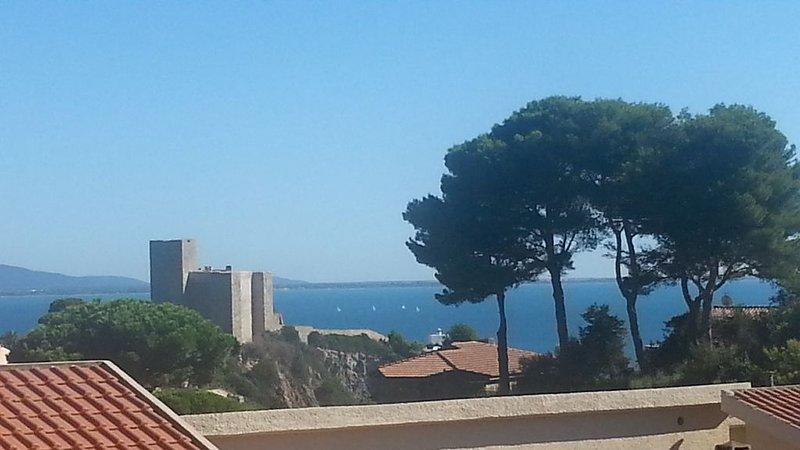 Talamone: toscana, maremma bilocale con vista mare, casa vacanza a Orbetello