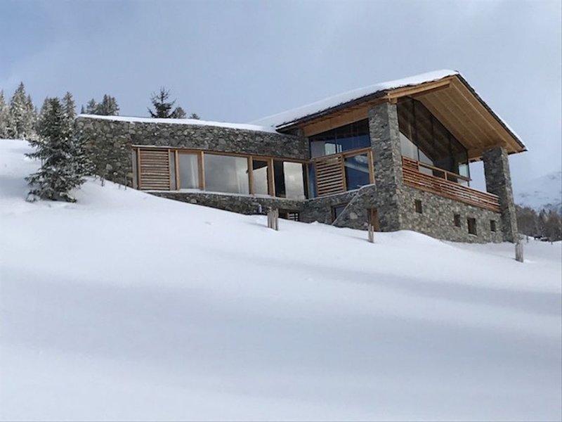 Chalet moderne d'exception à la Rosière, holiday rental in Montvalezan