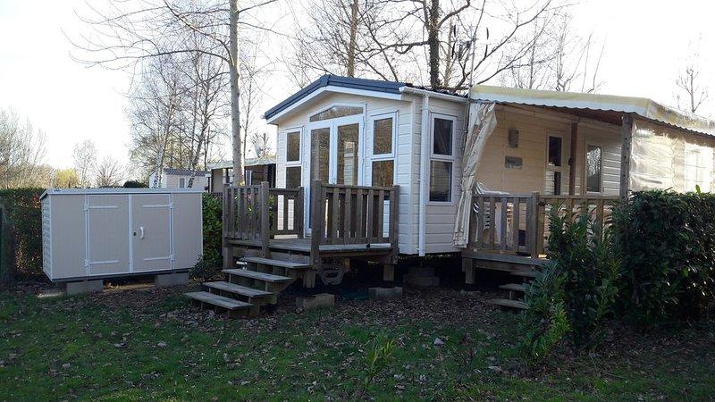 MOBIL  HOME  - CHATEAUX DE LA LOIRE ET ZOO DE BEAUVAL, location de vacances à Chambon-sur-Cisse