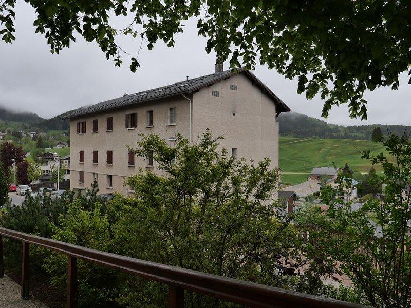 Studio chaleureux, plein sud, avec vue imprenable sur montagnes !, location de vacances à Villard-de-Lans