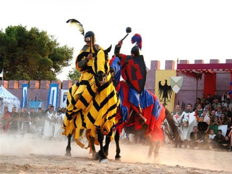 The tournament of the districts, well-known event of Oria.