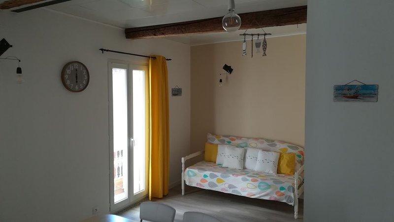 Traversant, lumineux ! Appartement Les Thau'mettes, aluguéis de temporada em Pinet