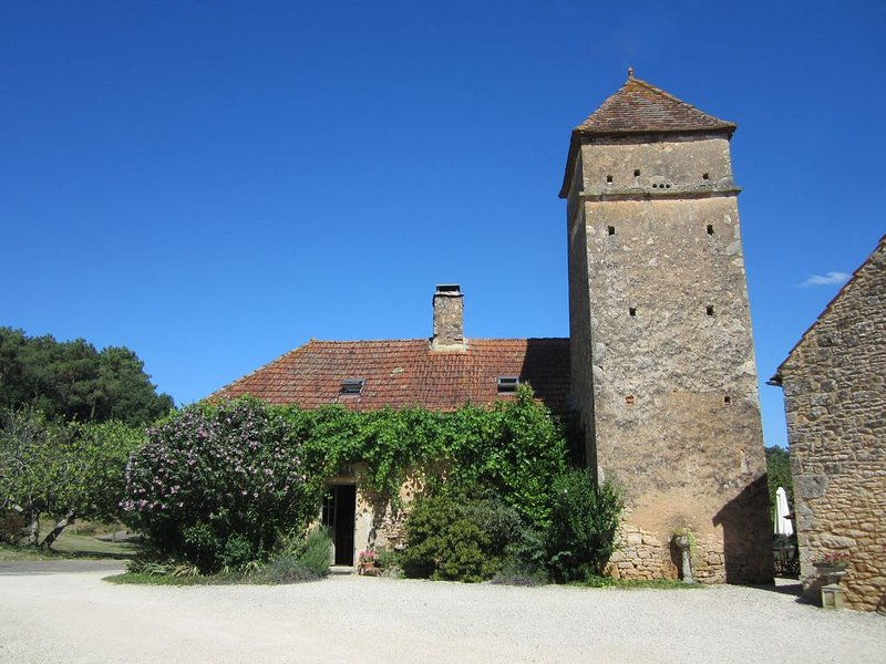 Le Pigeonnier, Beautiful stone farmhouse in private hamlet with 20 acres of land, vacation rental in Lot