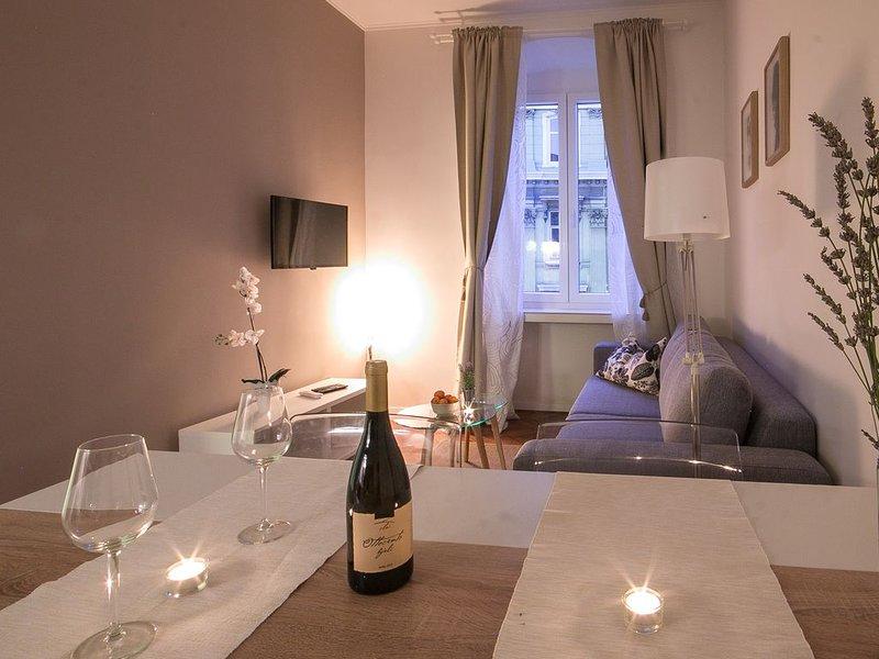Modern and stylish apartment in the city center Bella Fiume 1, location de vacances à Rijeka