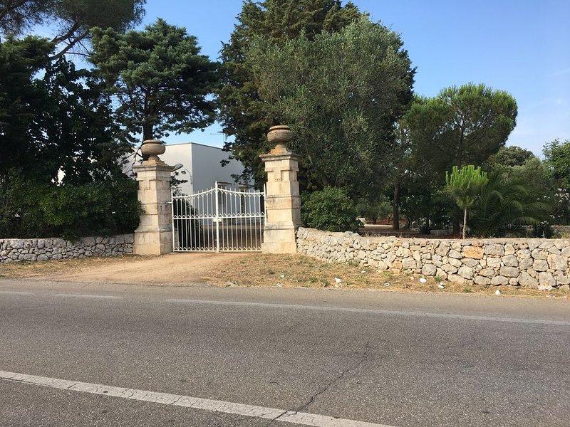 Casale di campagna a pochi Km dal mare, holiday rental in San Vito dei Normanni