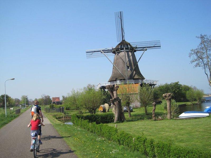 Prachtig gelegen in de bossen en Friese Meren, holiday rental in Heeg