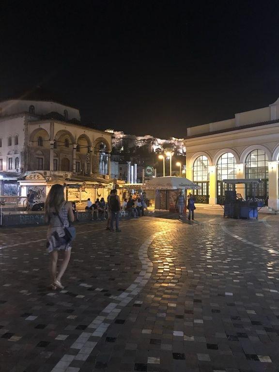 Platia Monastiraki, Athens downtown