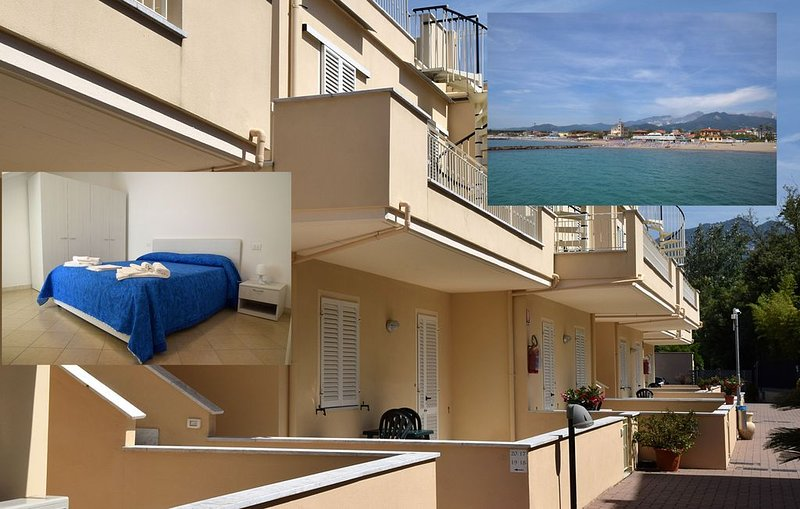 Appartamento al mare in Toscana a Marina di Massa, holiday rental in Massa