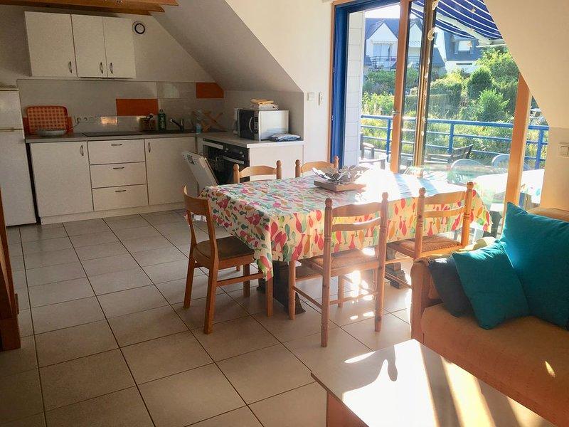 Appartement lumineux dans maison individuelle, holiday rental in Saint-Pierre-Quiberon