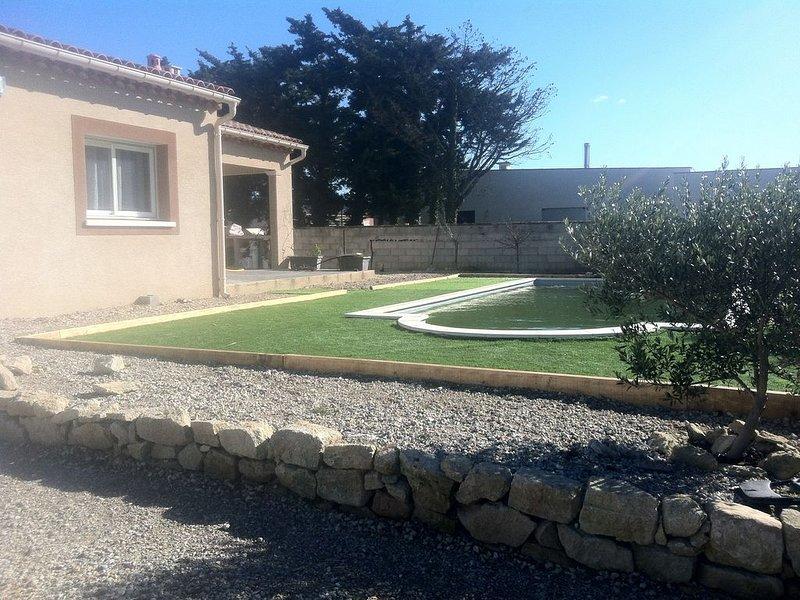 Belle villa avec piscine, vacation rental in Monteux