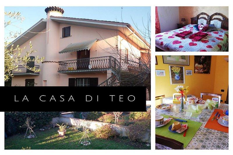 Casa in Loc. La Sbarra ideale per famiglie, vacation rental in San Lorenzo Nuovo