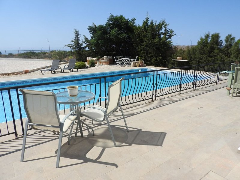 Pantheon Retreat Villa  Panoramic Views 3 bedroomed Villa with Private Pool, holiday rental in Pissouri