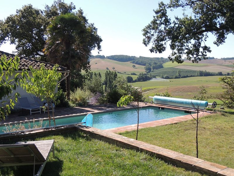 Charming Cottage in the French Countryside, vacation rental in Lavit