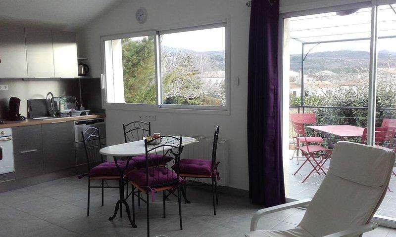 Petite maison entre montagne et rivière (Gîte de France), vacation rental in Plan-de-Baix