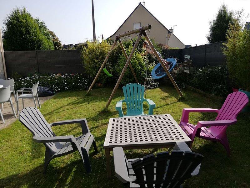 Maison de vacances 'bleu émeraude', holiday rental in Pleslin-Trigavou
